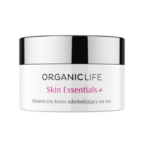 Botaniczny krem odmładzajacy na noc Skin Essentials