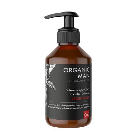 Balsam myjący do ciała i włosów 2w1 regenerujący Organic Man