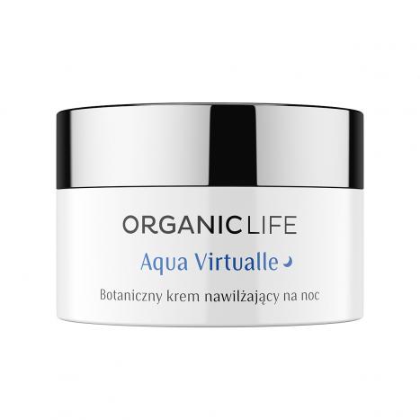 Botaniczny krem na noc nawilzający Aqua Virtualle