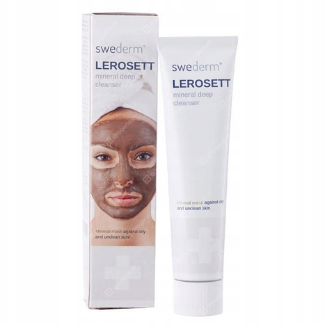 Swederm® Lerosett maska oczyszczająca