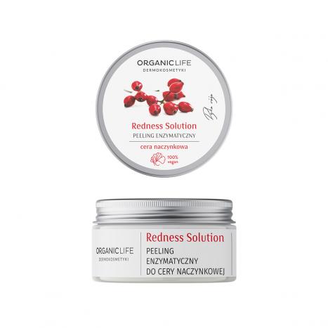 Peeling enzymatyczny do cery naczynkowej